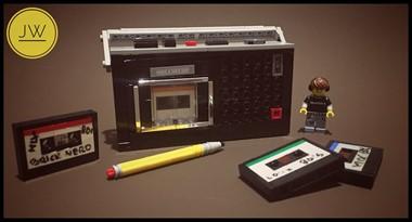 卡式錄音機和錄音帶
